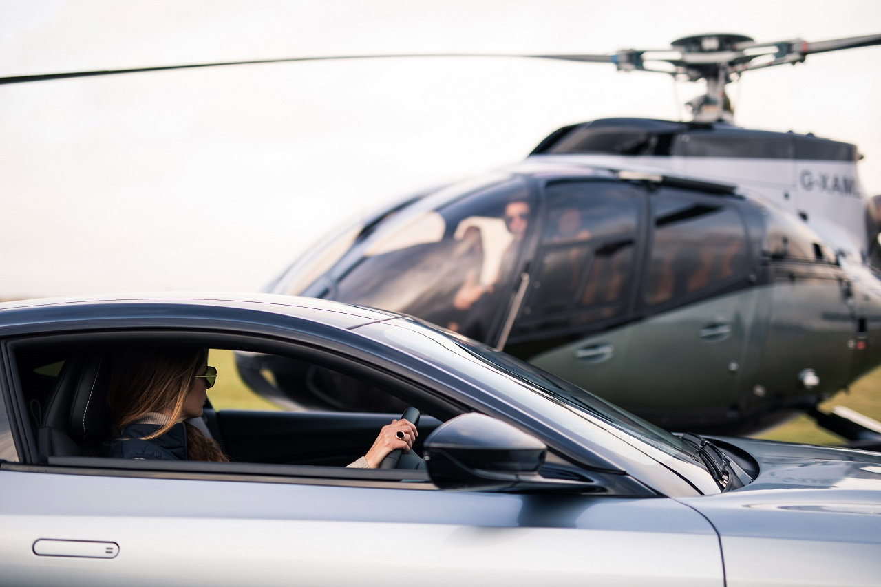 Airbus and Aston Martin launch stylish special edition luxury helicopter