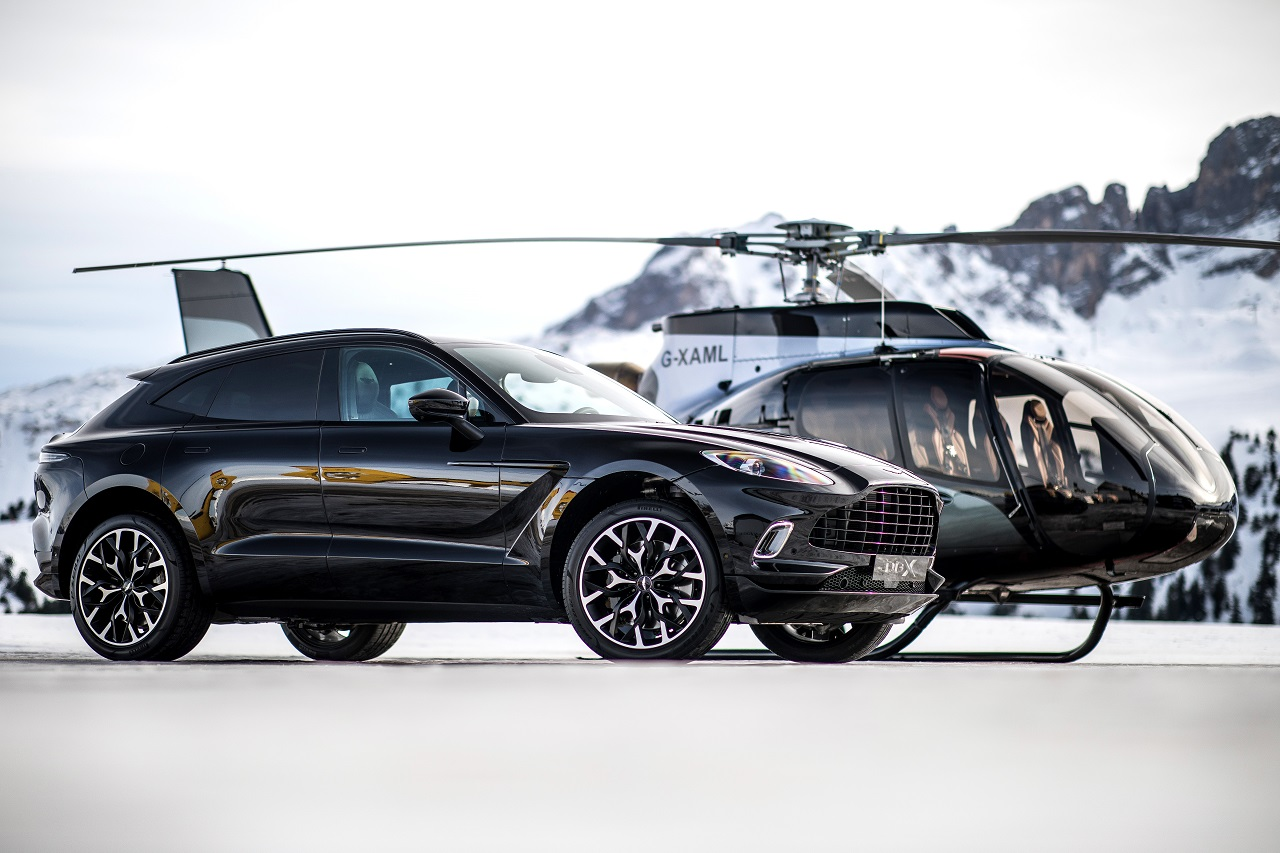 The ACH130 proves to be the most elegant and powerful custom helicopter