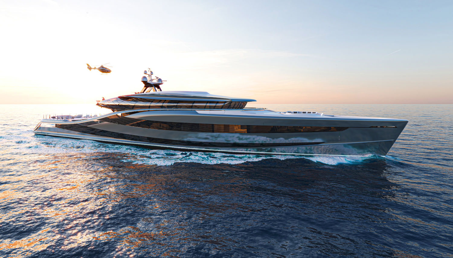 Futura mega yachts offer an innovative architecture experience